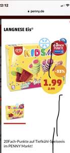 Langnese Kid's Mix bei Penny plus 20 Fach PayPack Punkte