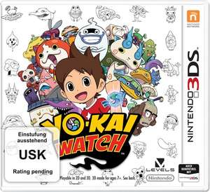 Yo-Kai Watch & YO-KAI Watch 2 - Knochige Gespenster & Metroid Prime Federation Force & Chibi-Robo!: Zip Lash (3DS) für je 5€ (GameStop)