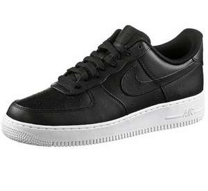 NIKE AIR FORCE 1 ´07 - SNEAKER HERREN - BLACK/WOLF GREY/OBSIDIAN Größen 40 1/2-47 1/2