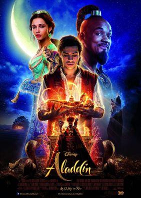 UCI Kino FilmderWoche Ticket in fast allen UCI Säalen 50% Rabatt biszum 10.7.2019 auf den Alladin Musicalfilm auch am Wochenende in der Loge