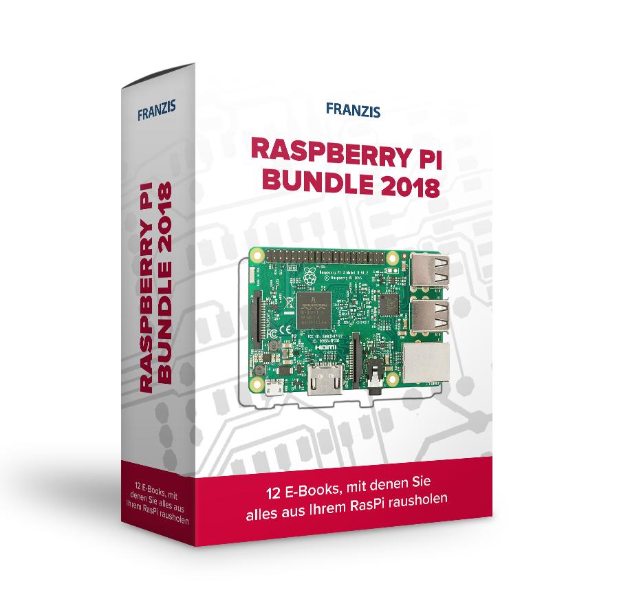 Raspberry Pi Einsteiger eBook Bundle (12 Bücher, PDF-Format)