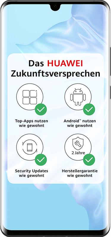 Huawei P30 Pro im Mobilcom Debitel Vodafone / Telekom Green LTE (6GB LTE) für mtl. 26,99€ + 99€