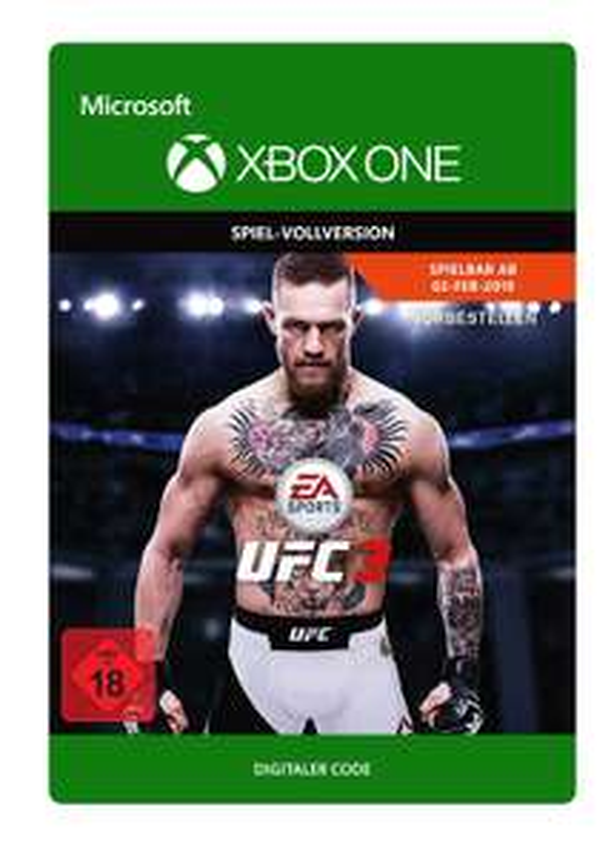 EA SPORTS UFC 3 (Xbox One) für 12,50€ & (PS4) für 14,99€ (Xbox Store Live Gold & PSN Store)