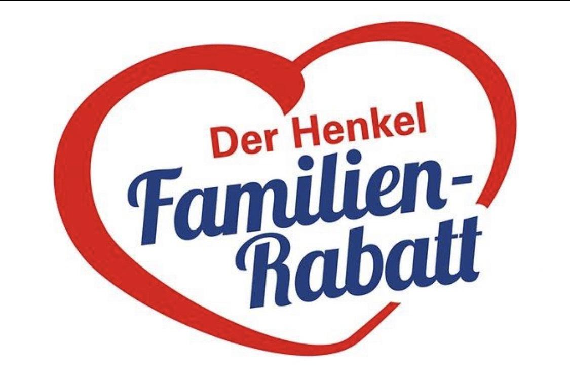 Henkel Familien Rabatt 2019