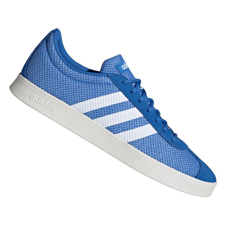 adidas Freizeitschuh VL Court 2.0 blau/weiß - verfügbare Größe 39 1/3 bis 48