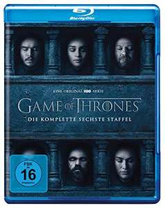 Game of Thrones: Die komplette sechste Staffel  (Blu-ray) für 16,78€ (Amazon Prime)