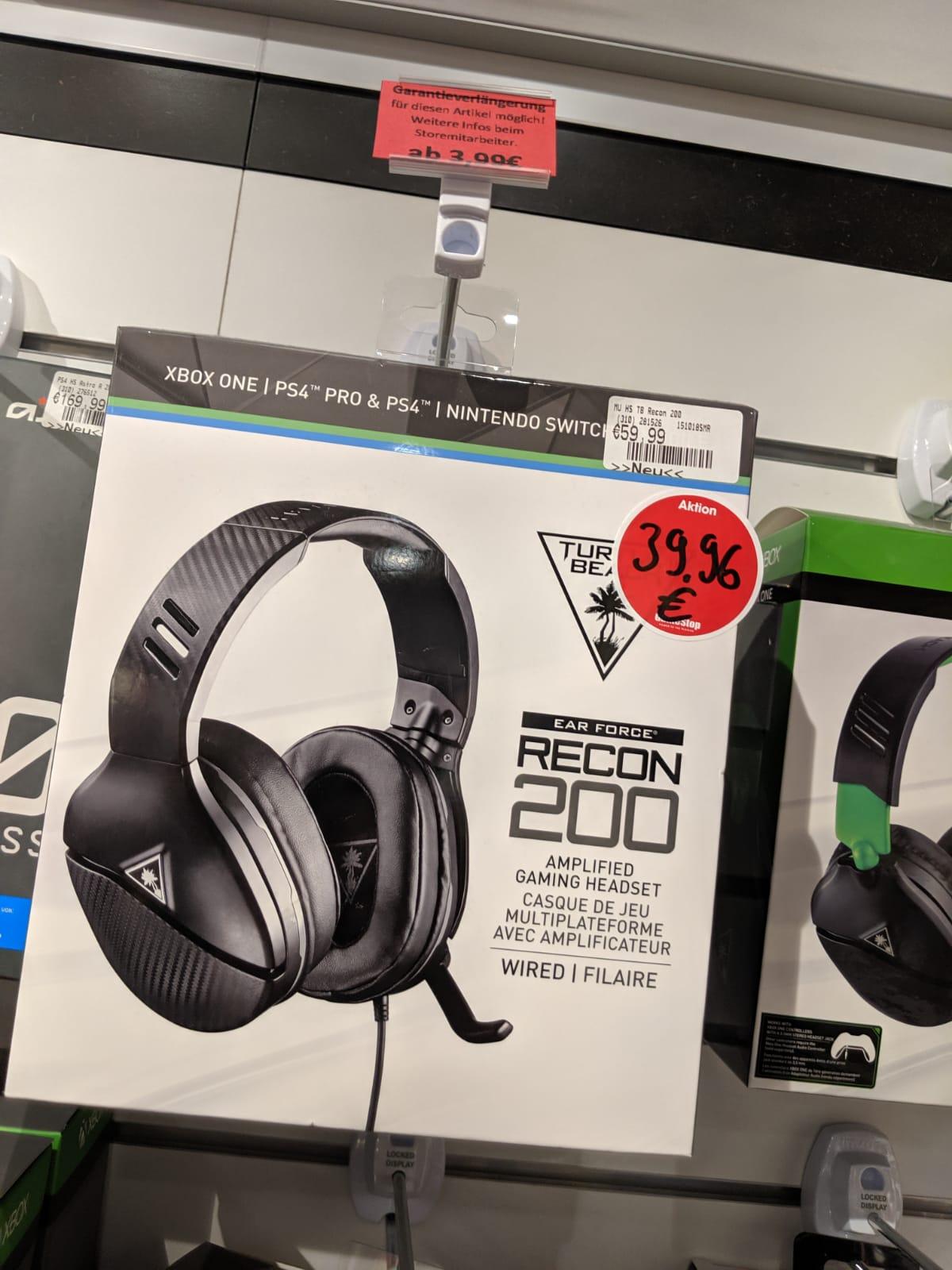 Turtle Beach Recon 200 Gaming-Headset - Gamestop Spandau Arcaden [Lokal]