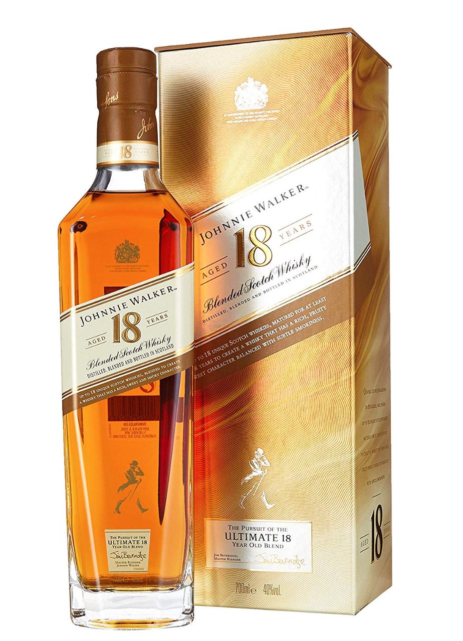 Johnnie Walker 18YO Blended Scotch Whisky 0,7l