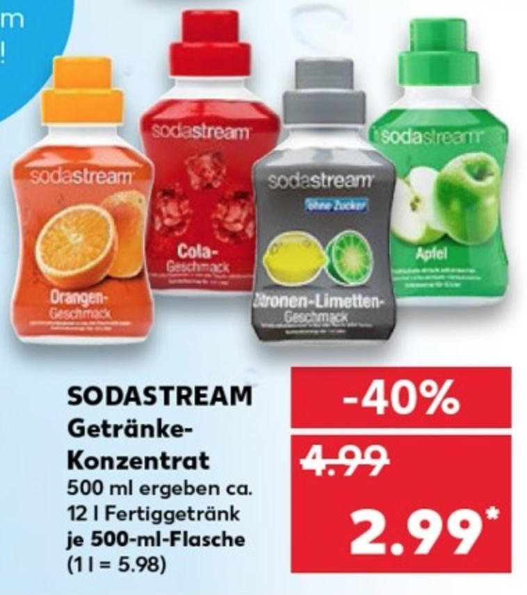 SodaStream Getränke-Konzentrat [Kaufland]