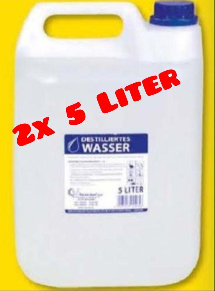 10 Liter destilliertes Wasser für nur 2€ oder 5 Liter für nur 1€ bei Kodi