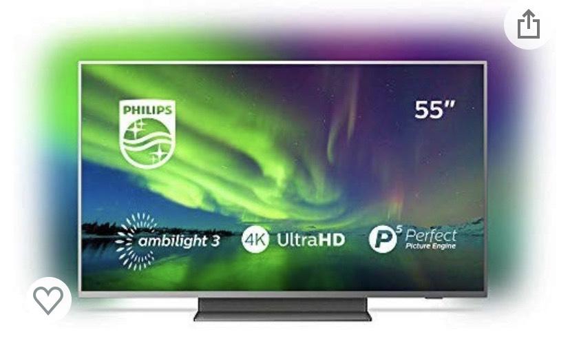 Philips UHD TV (Dolby Vision + Dolby Atmos) 55PUS7504/12 zum Bestpreis bei Media Markt Braunschweig Lokal?!