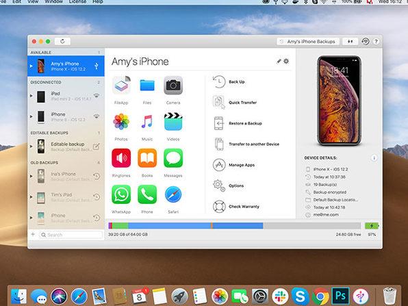 [stacksocial] iMazing 2 / umfangreiche iTunes-Alternative - iOS-Backups auf Mac/PC/NAS