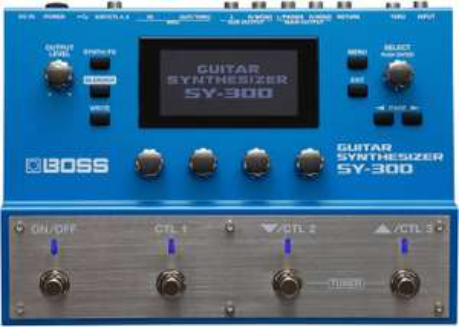 Boss SY-300 Guitar Synthesizer (über Idealo oder muziker.de)