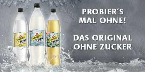 [ EDEKA SÜDBAYERN ] 1l Flasche Schweppes Zero für effektiv 0,71€ (Angebot + Coupies Cashback - 12x einlösbar)