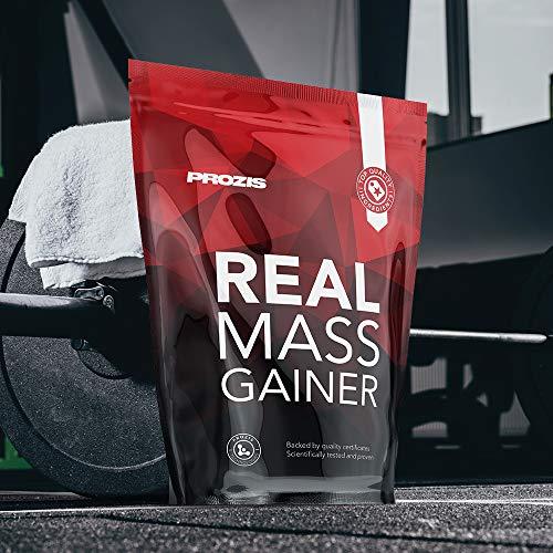 (Amazon Prime ) Prozis Real Mass Gainer 2722 g Banana - Gainer mit Protein für Muskelwachstum und Erhalt