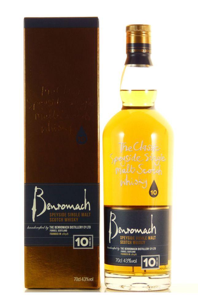 Benromach 10 Jahre Single Malt Whisky 0,7l 43% bei [Rakuten] mittels Masterpass-Gutschein
