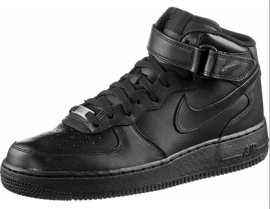 [SportScheck] Nike Air Force 1 Mid in Schwarz von 41 bis 47