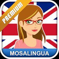 Englisch lernen mit MosaLingua Premium kostenlos (Android)