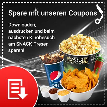 CineStar: Rabattcoupons für Snacks und Getränke