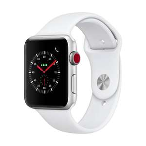 [LOKAL Interdiscount Schweiz] Apple Watch Series 3 GPS + Cellular / 42 mm / weiß für 224,60 Euro