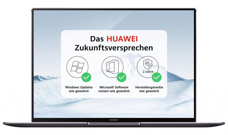 Huawei MateBook X Pro W29A oder Matebook 13 (W29C) für 919,20€ bei notebooksbilliger.de