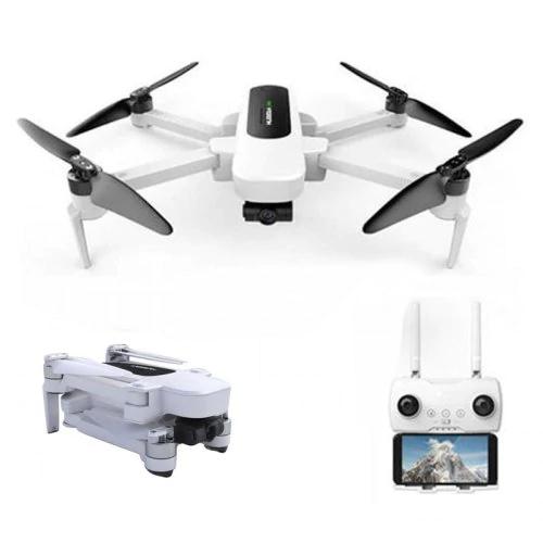 Quadrocopter Hubsan H117S Zino (3840x2160@30fps, 3-Achsen-Gimbal, GPS, Folgen-Funktion, ~23min Akku, ~1km Reichweite, App, faltbar, 700g)