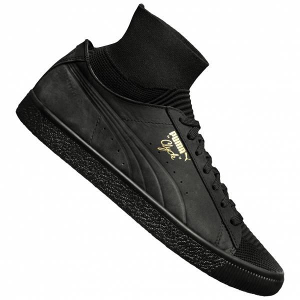 PUMA Clyde Sock Select Herren Sneaker Gr.: 39 - 46 in schwarz und grau