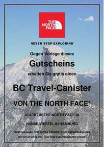 [Regional]: HH: The North Face Basc Camp Travel Canister (25€) umsonst!