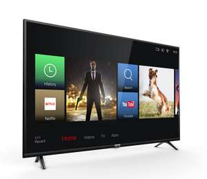 "TCL 43DP603 (43"", Ultra HD, 60Hz, 8bit+FRC, HDR10 & HLG, 250 cd/m², Triple Tuner, Smart TV 3.0, 2x HDMI 2.0)"