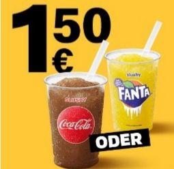 [McDonalds App] Fanta/Cola Slushy für 1,50€