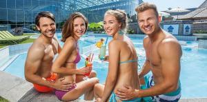 Therme Erding: Eintritt in die größte Therme der Welt inkl. 4**** Hotelübernachtung ab 59 € p.P. | 118€ für 2 Personen mit Frühstück