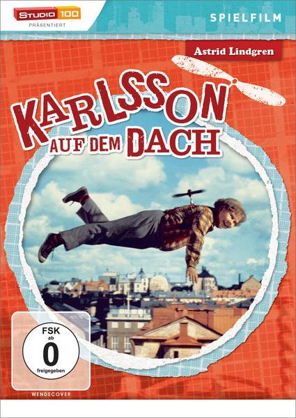 [Amazon Prime/Thalia Club] Astrid Lindgren: Karlsson auf dem Dach - Spielfilm DVD für 4,07€