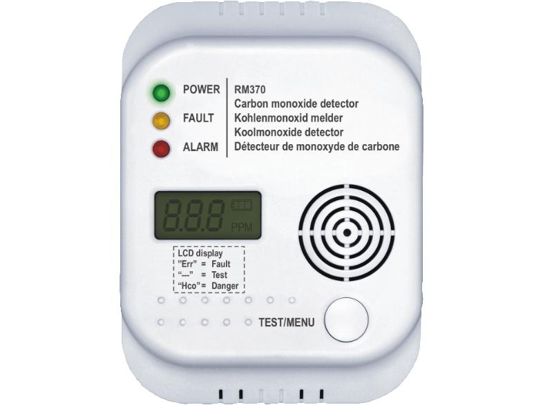 Smartwares Kohlenmonoxidmelder RM370 für 11€ *UPDATE*