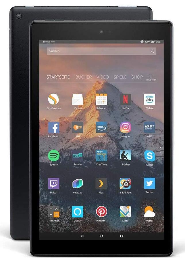 50 € Prime Rabatt für Prime Kunden. Fire HD 10-Tablet 32GB, Zertifiziert und generalüberholt