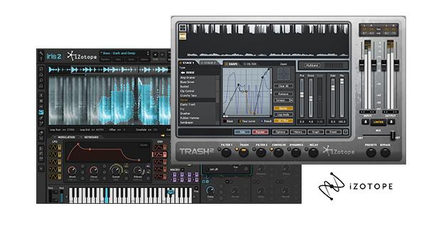 Musikersoftware: iZotope Trash2 & Iris 2 Bundle, Stutter Edit & BreakTweaker je $49