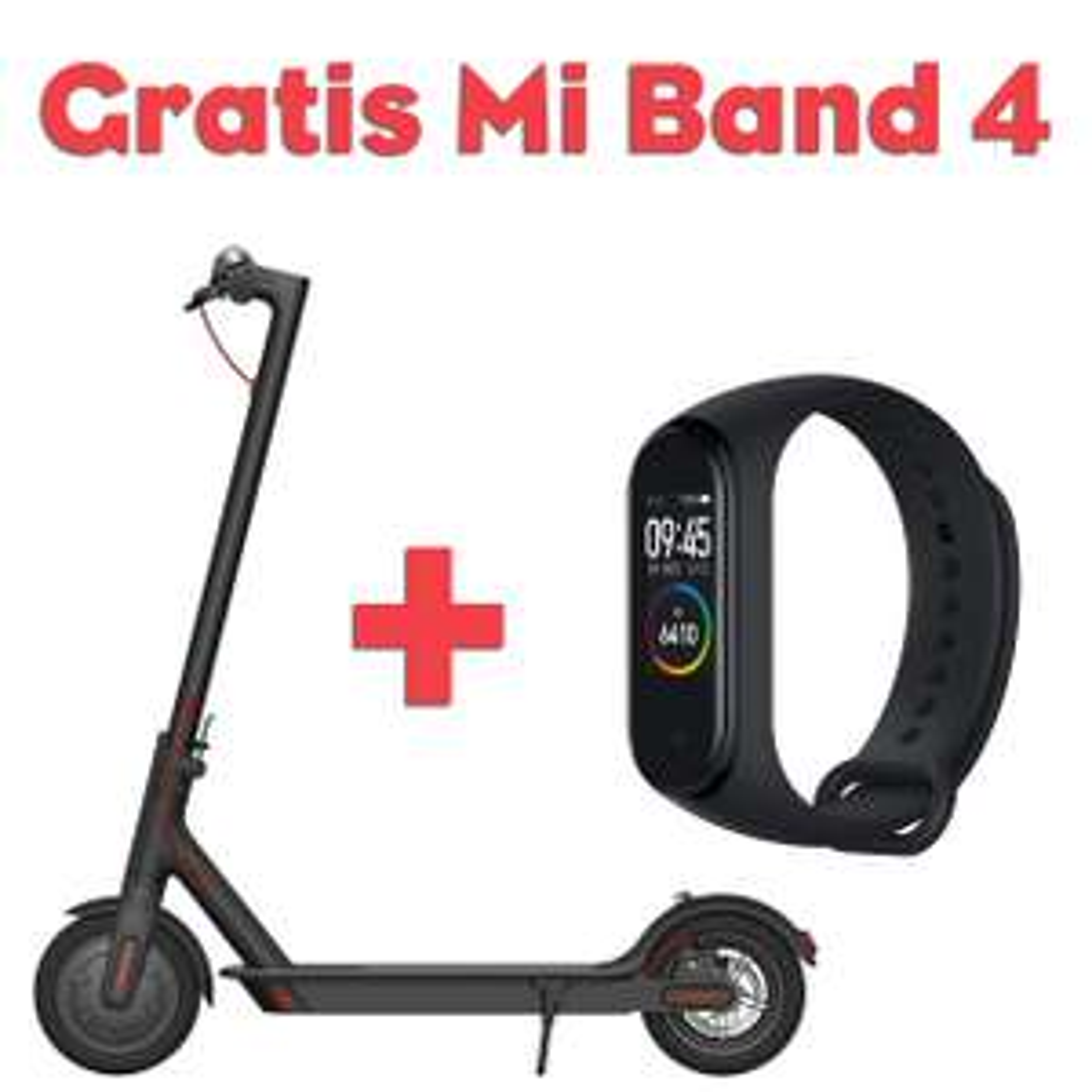 E-Scooter + Gratis Mi Band 4