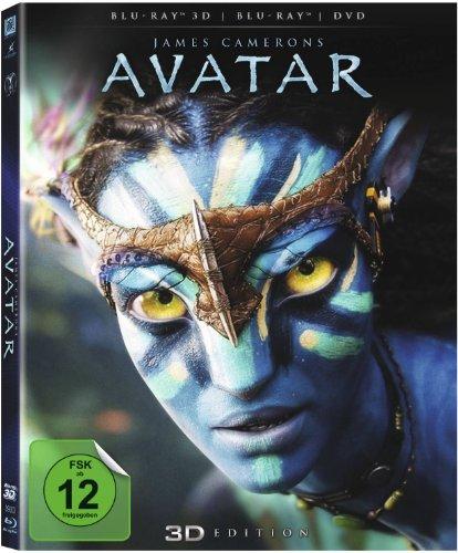 Avatar - Aufbruch nach Pandora 3D (3D Blu-ray + Blu-ray + DVD) für 14,31€ (Amazon Prime)