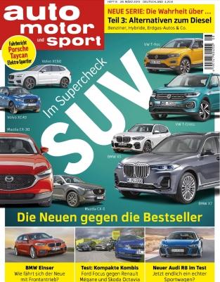 Auto Motor&Sport 3 Monatsabo für 31,85 ( nicht selbstkündigend ) plus 31,85€ Geldprämie