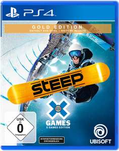 Steep X Games Gold Edition inkl. Steep (PS4 & Xbox One) für je 11,99€ (Müller & Amazon Prime)