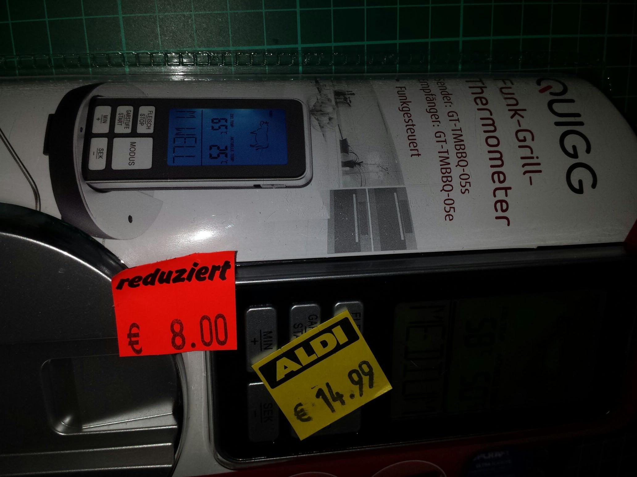 Lokal Aldi Tangermünde Funkgrillthermometer für 8€