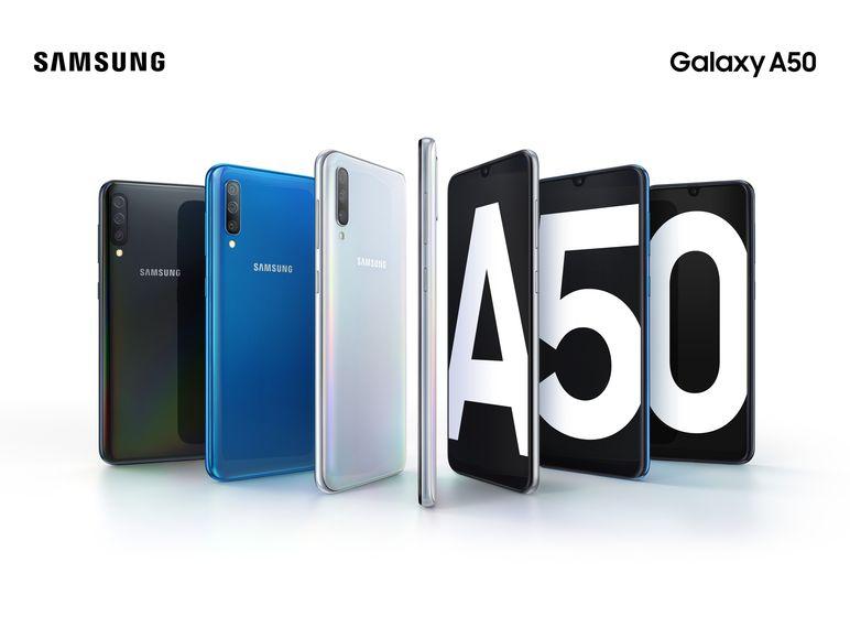 Samsung Galaxy A50 alle Farben