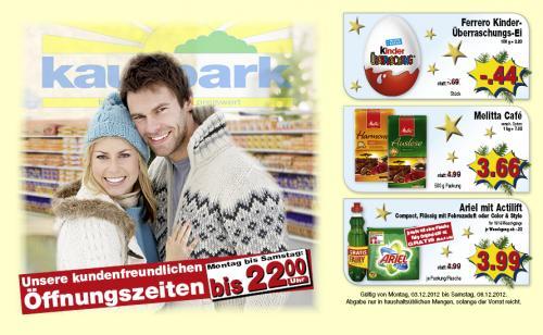 Melitta Kaffee im Kaufpark [lokal NRW] für 3,66 Euro