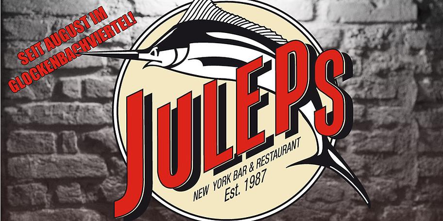 [ München ] 50€ für Juleps (Bar & Restaurant im New Yorker Stil) für 27,50€