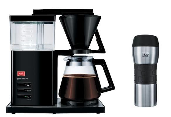 Melitta Aroma Signature Deluxe Kaffeemaschine + gratis Thermobecher