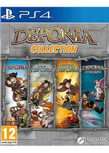 Deponia Collection Ps4 Playstation 4