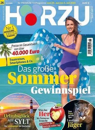 Hörzu Abo (52 Ausgaben) für 114,60 € mit 110,00 € BestChoice Universalgutschein