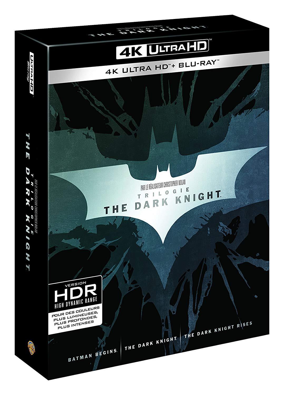 The Dark Knight - Trilogie (4K Blu-ray) für 35,23€ (Amazon.fr)