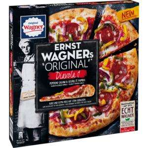 "Ernst Wagners ""Original"" Pizza mit 1 Euro-Coupon für 1,99 Euro [Real-Filiale]"