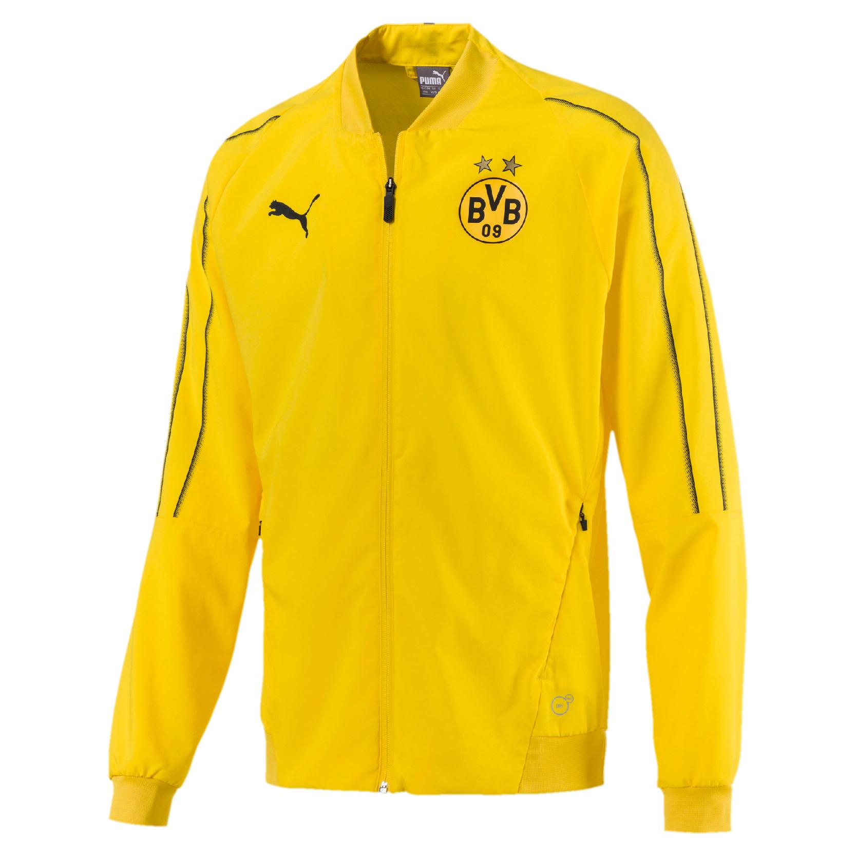 Puma BVB Borussia Dortmund - Herren Leisure Jacket Trainingsjacke in Größe S - 3XL & auch für Kinder