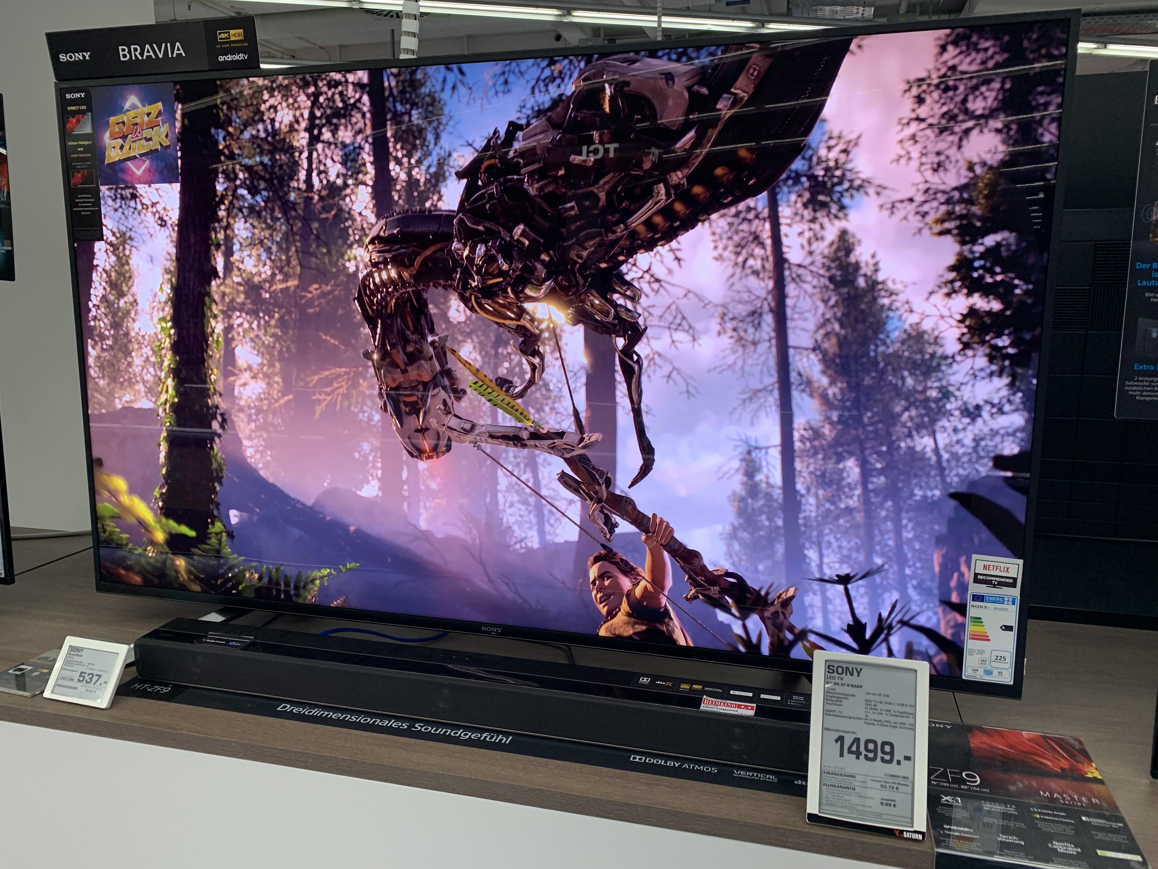 [lokal] Saturn Köln Maybach Str./ Sony LED TV KD65ZF9 für 1499€
